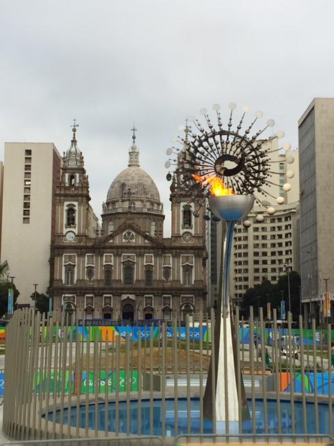 リオ五輪のオリンピック聖火